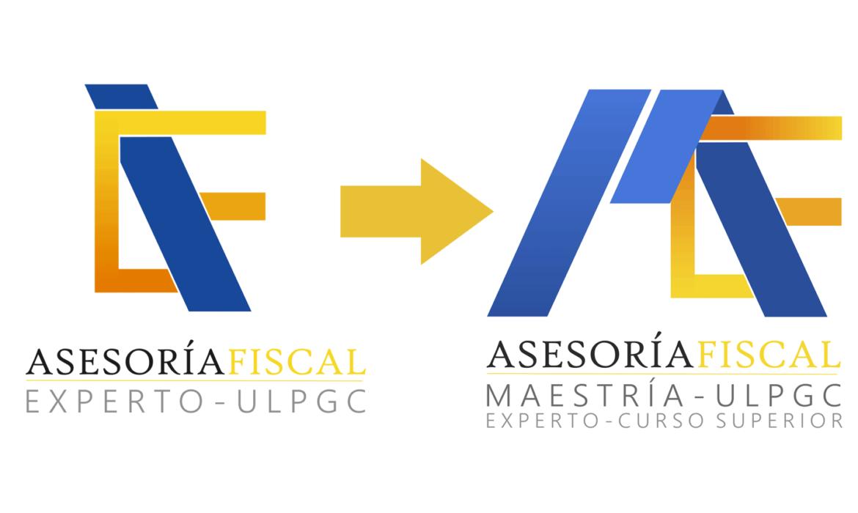 Transformación del logotipo del Experto para incorporar la Maestría
